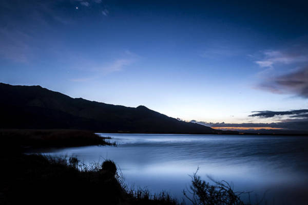 California Adventure Photograph - Twilight At Klondike Lake by Cat Connor
