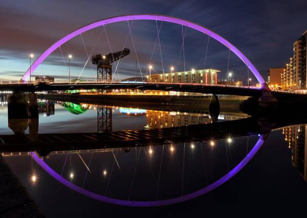 Photograph - Twilight Bridge by Grant Glendinning