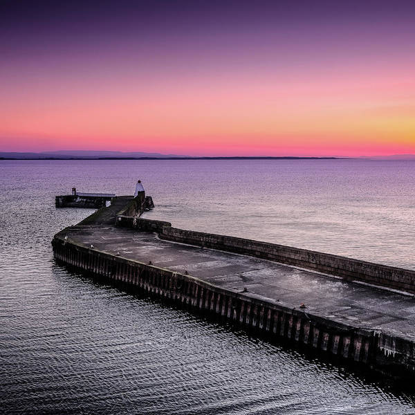Photograph - Twilight, Burghead Harbour by Peter OReilly
