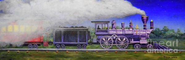 Wall Art - Painting - Twilight Express by Tanja Ware