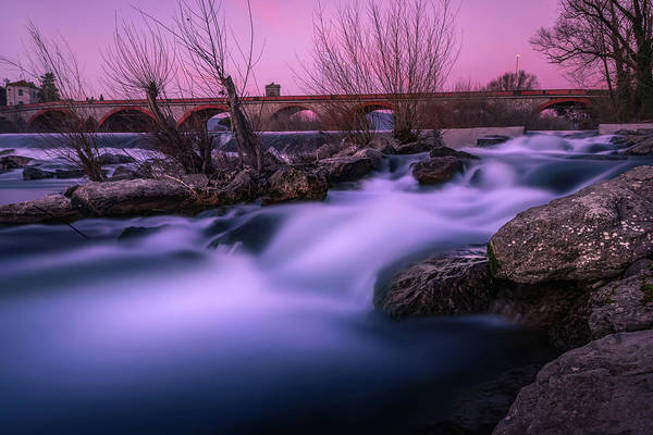 Photograph - Twilight Falls by Matteo Viviani