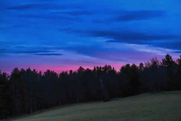 Photograph - Twilight Field by Tom Singleton