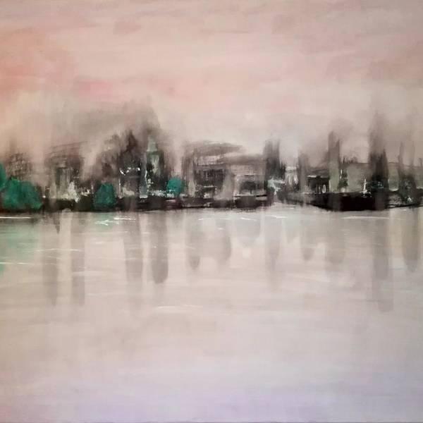Acrilic Painting - Twilight by Giuseppina Rizzi