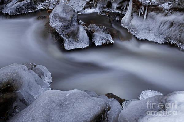 Wall Art - Photograph - Twilight Ice by John Stephens