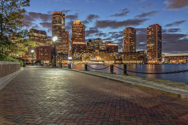 Photograph - Twilight In Boston by Kristen Wilkinson