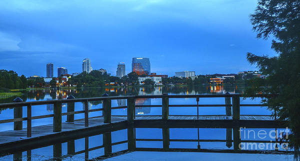 Ivanhoe Photograph - Twilight In Orlando by Amanda Sinco