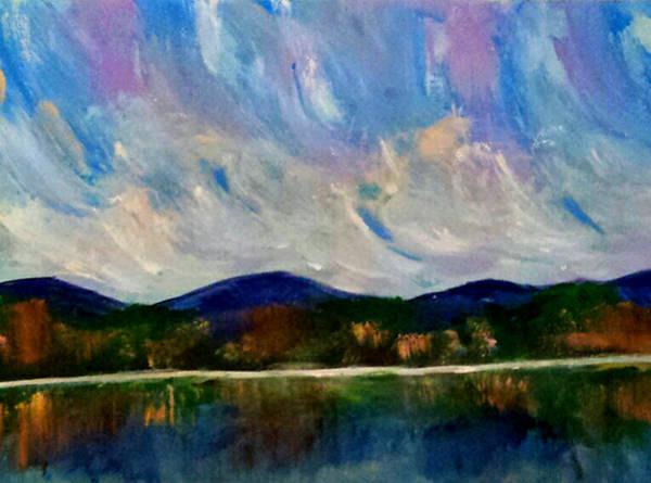 Painting - Twilight Larger Options by Nikki Dalton