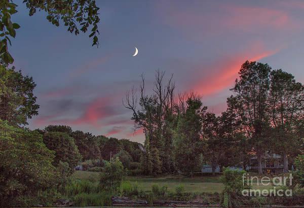 Photograph - Twilight Moonrise by Rod Best