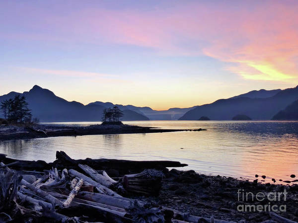Photograph - Twilight Of Furry Creek by Victor K