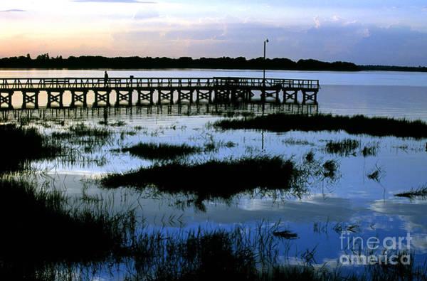 Photograph - Twilight On Lake Mineola In Clermont Florida by William Kuta
