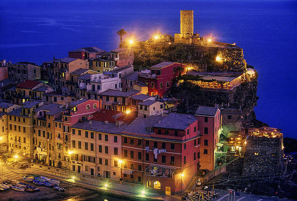 Wall Art - Photograph - Twilight On The Italian Coast by Andrew Soundarajan