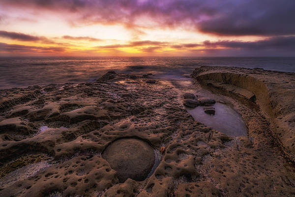 Photograph - Twilight On The Pacific - California Coast by Photography  By Sai