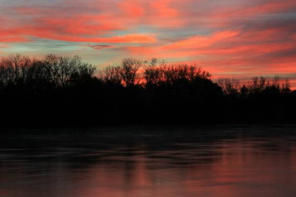 Wall Art - Photograph - Twilight On The River by Chris Berry