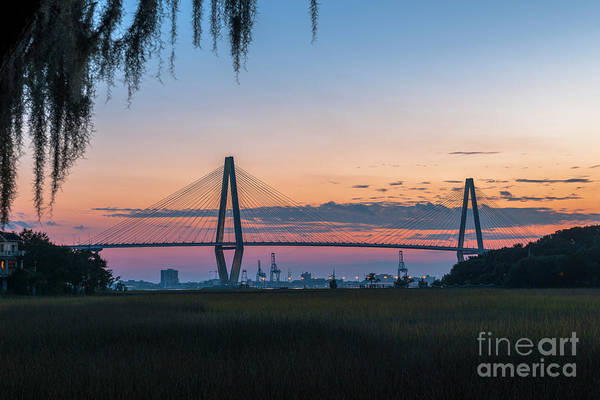 Photograph - Twilight Over Historic Charleston South Carolina by Dale Powell