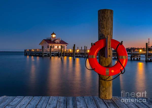 Wall Art - Photograph - Twilight Over Roanoke Sound by Anthony Heflin