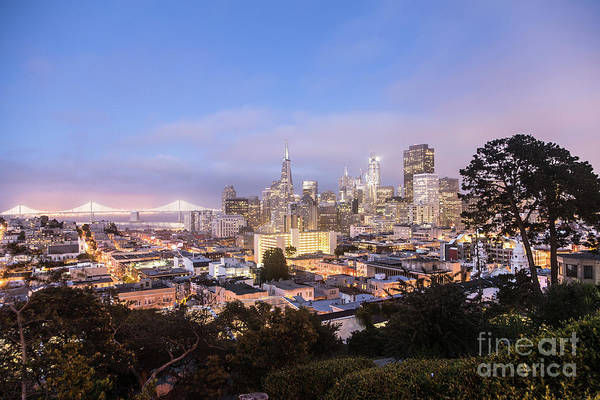 Photograph - Twilight Over San Francisco by Didier Marti