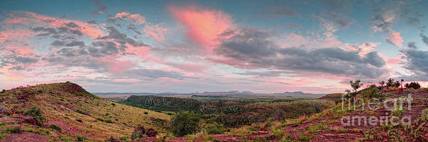 Wall Art - Photograph - Twilight Panorama Of Davis Mountains State Park And Fort Davis - Chihuahua Desert West Texas by Silvio Ligutti