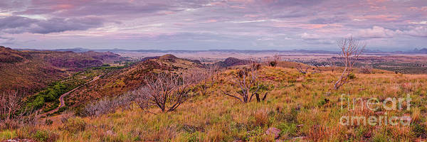 Photograph - Twilight Panorama Of Limpia Canyon And Chihuahua Desert - Davis Mountains State Park - Fort Davis  by Silvio Ligutti