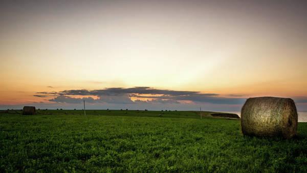 Photograph - Twilight Prince Edward Island Fields by Chris Bordeleau