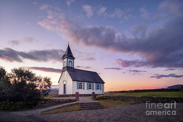 Chapel Wall Art - Photograph - Twilight Sanctuary by Evelina Kremsdorf
