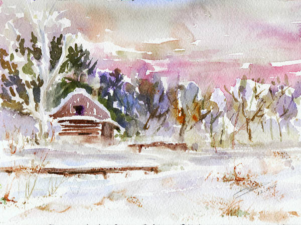 Twilight Serenade I Art Print