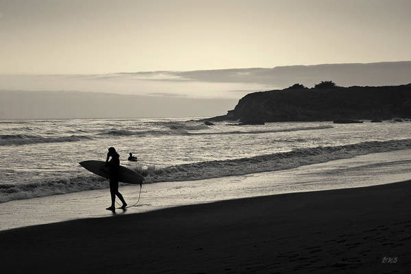 Photograph - Twilight Surfers Toned by David Gordon