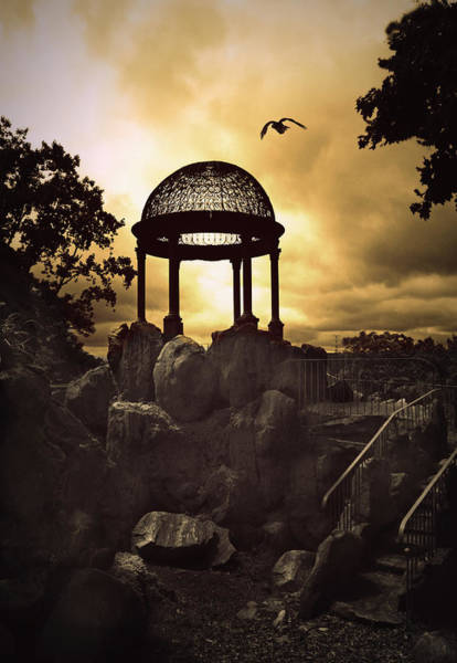 Wall Art - Photograph - Twilight Temple by Jessica Jenney