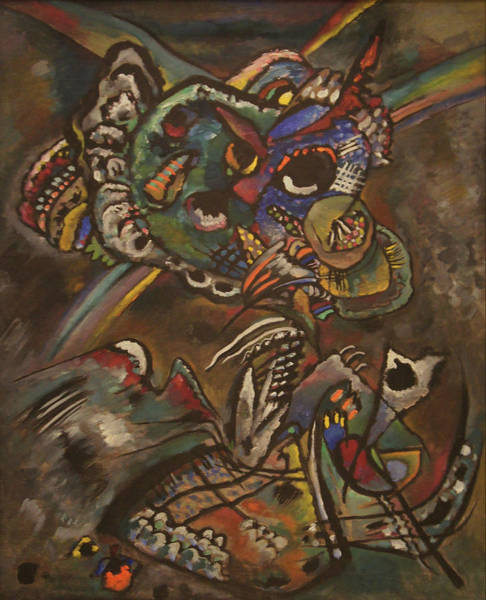 Twilight Art Print by Wassily Kandinsky