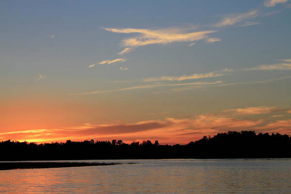 Photograph - Twillight Time At The Lake by Bonnie Follett
