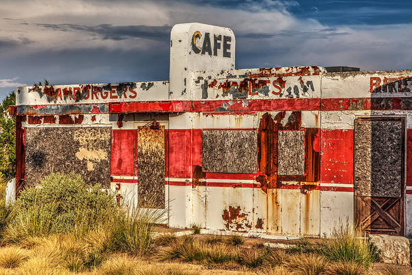 Winona Photograph - Twin Arrows Cafe by James Marvin Phelps