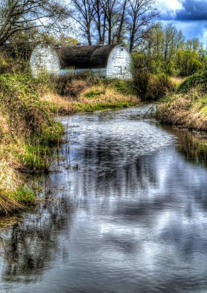 Wall Art - Photograph - Twin Barns by Peter Mooyman