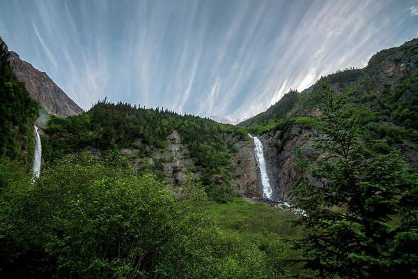Photograph - Twin Falls Bc by Ryan Heffron