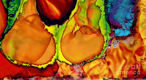 Painting - Twin Flames  by Jolanta Anna Karolska