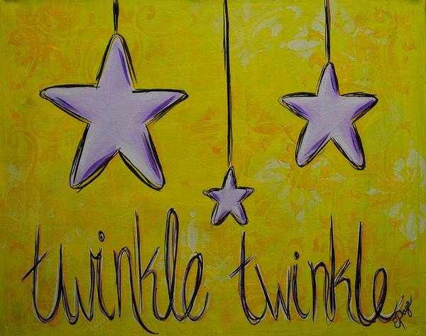 Painting - Twinkle Twinkle by Emily Page