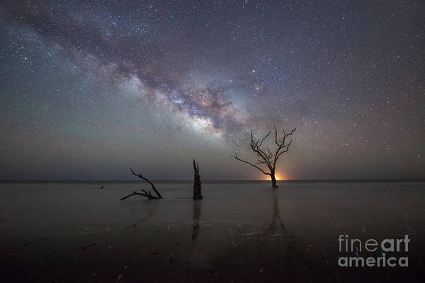 Wall Art - Photograph - Twinkling Stars Reflecting  by Michael Ver Sprill