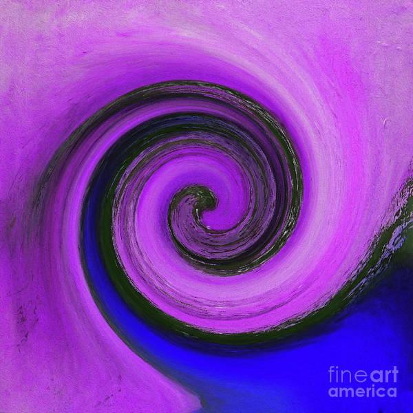 Twirl Painting - Twirl 04 by Gull G
