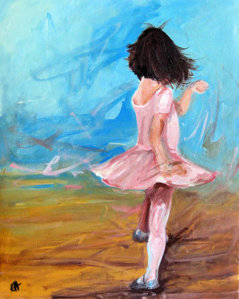 Twirl Painting - Twirl by Cari Humphry
