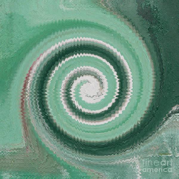 Twirl Painting - Twirl Green  by Gull G