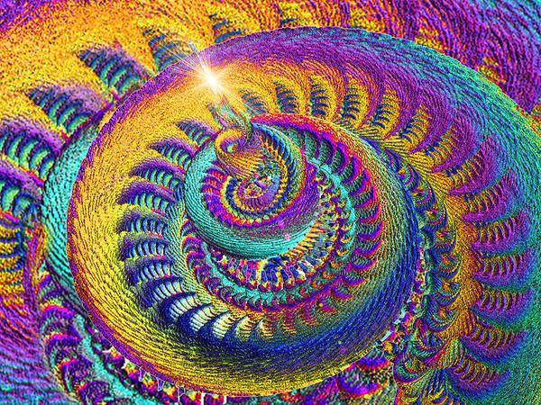 Phish Digital Art - Twirl by Phil Sadler