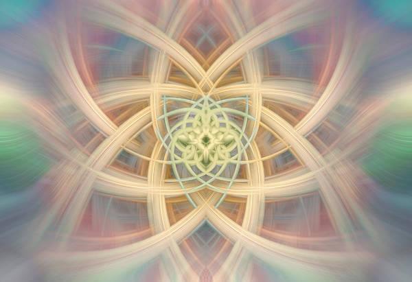 Digital Art - Twirl Sunshine 101 by Mary Almond