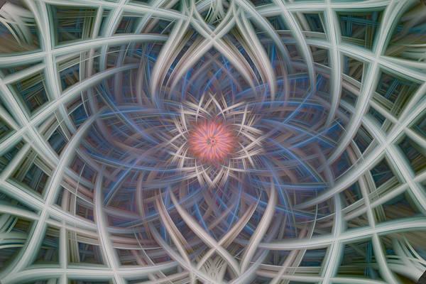 Digital Art - Twirled Chaos 107 by Mary Almond