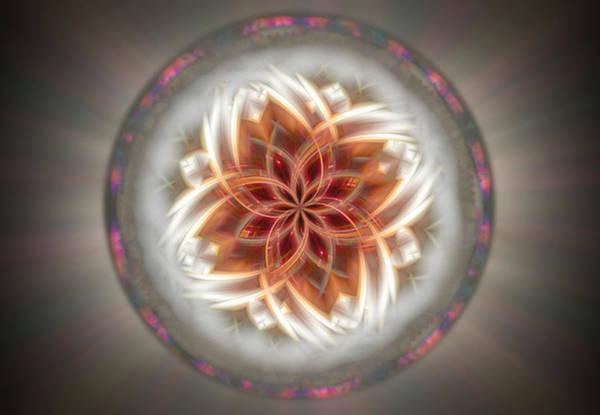 Digital Art - Twirled Dreamcatcher 106 by Mary Almond