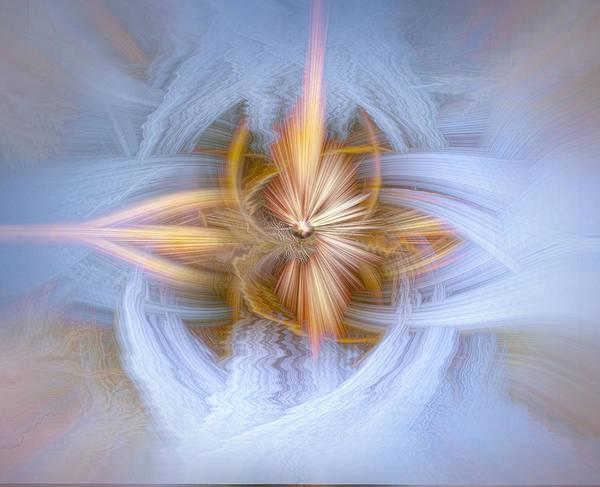 Digital Art - Twirled Lace 105 by Mary Almond