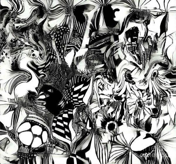 Heartbroken Digital Art - Twisted Memories by Diane Holman