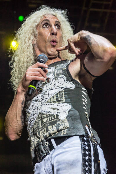 Photograph - Twisted Sister - Dee Snider by Stefan Nielsen