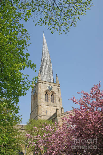 Photograph - Chesterfield's Twisted Spire by David Birchall