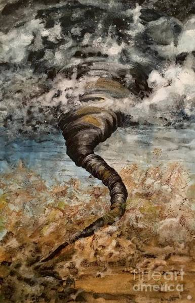 Painting - Twister On The Colorado Plains by Mastiff Studios