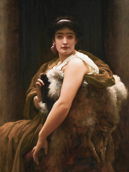 Wall Art - Painting - Twixt Hope And Fear by Frederic Leighton
