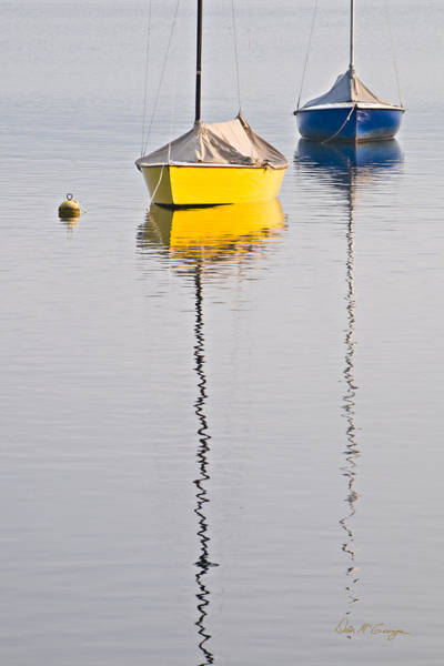 Photograph - Two Boats by Dan McGeorge