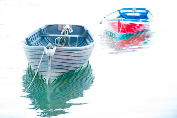 Photograph - Two Boats by Helen Northcott